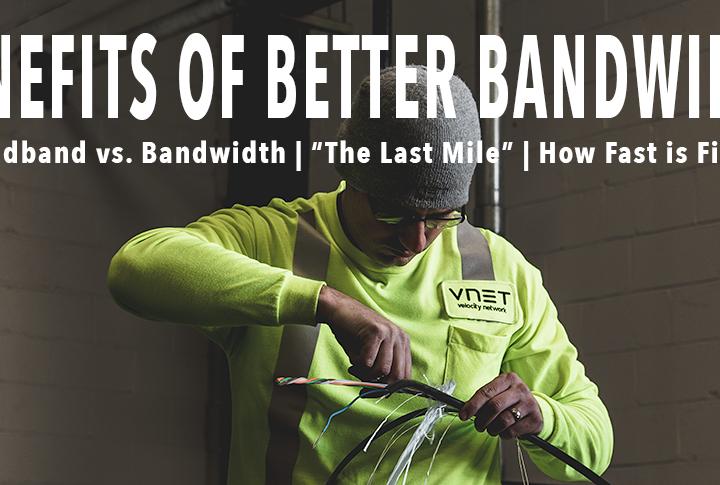 The Benefits of Better Bandwidth
